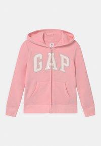GAP - GIRL LOGO - Sudadera con cremallera - light shell pink - 0
