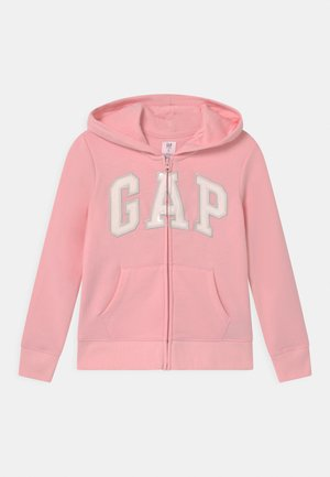 GIRL LOGO - Mikina na zip - light shell pink