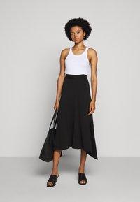 Tiger of Sweden - MABLE - A-line skirt - black - 1