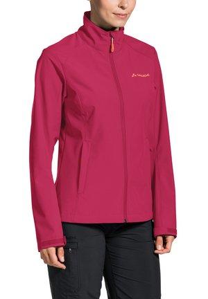HURRICANE - Soft shell jacket - crimson red