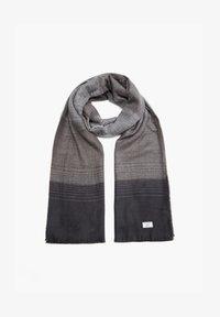 s.Oliver - Scarf - light grey stripes - 4