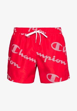 LEGACY - Shorts da mare - red