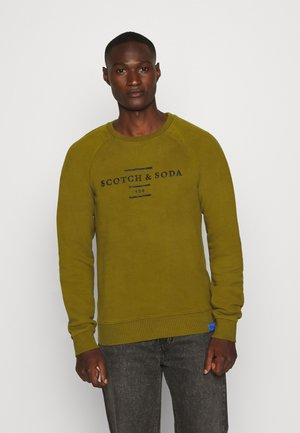 Sweatshirt - military green