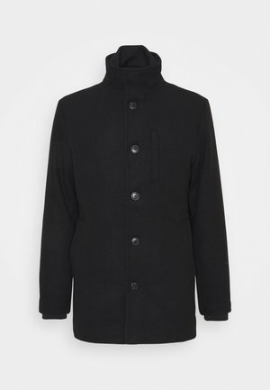 JJDUAL JACKET - Wollmantel/klassischer Mantel - black