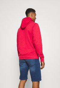 Tommy Jeans - STRAIGHT LOGO HOODIE - Felpa - pink - 2