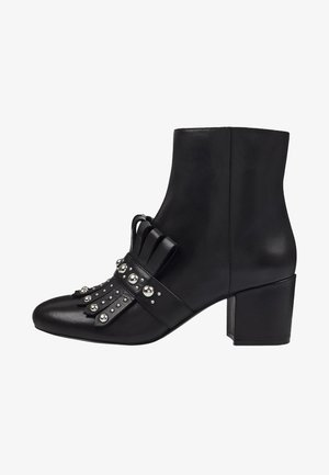 QAMILE - Korte laarzen - black