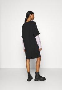 Weekday - TRACY DRESS - Jersey dress - black - 2
