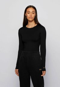 BOSS - Long sleeved top - black - 0