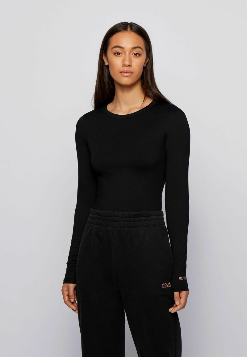 BOSS - Long sleeved top - black