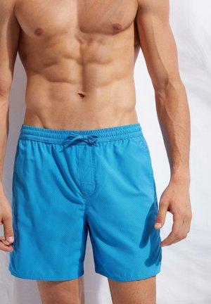 Swimming shorts -  blue capri