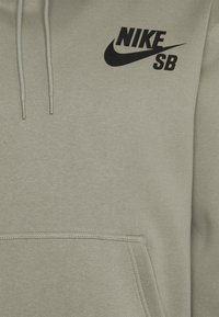 Nike SB - ICON HOODIE UNISEX - Hoodie - light army/black - 2