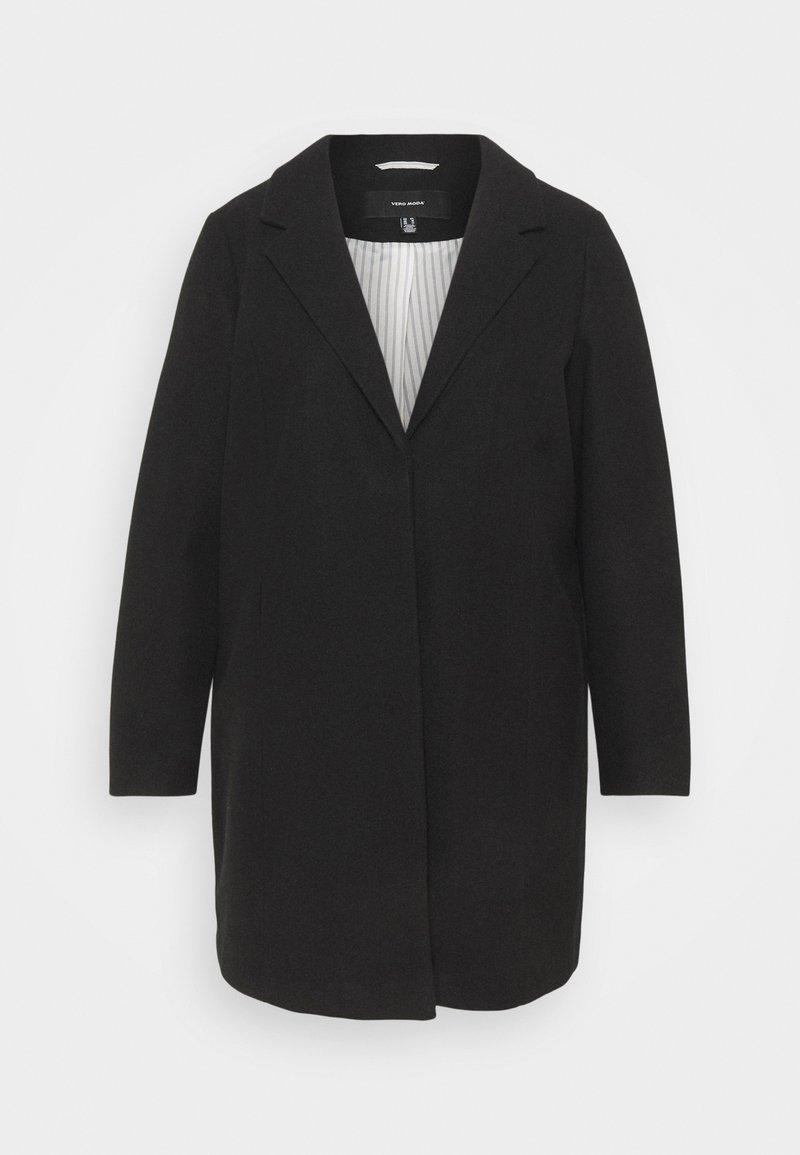 Vero Moda Curve - VMDAFNELISE JACKET - Klasický kabát - black