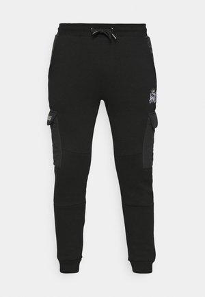 RAFFORD CARGO - Pantalon de survêtement - jet black