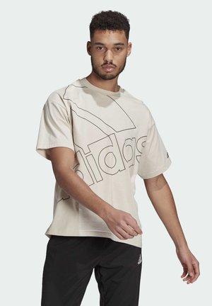 GIANT LOGO T-SHIRT (GENDER NEUTRAL) - Print T-shirt - grey