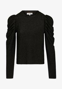 Morgan - WITH PUFF LONG SLEEVES - Long sleeved top - black - 4