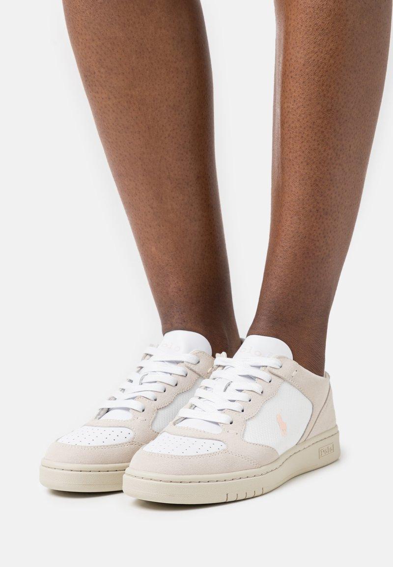 Polo Ralph Lauren - Sneakers laag - white/stucco