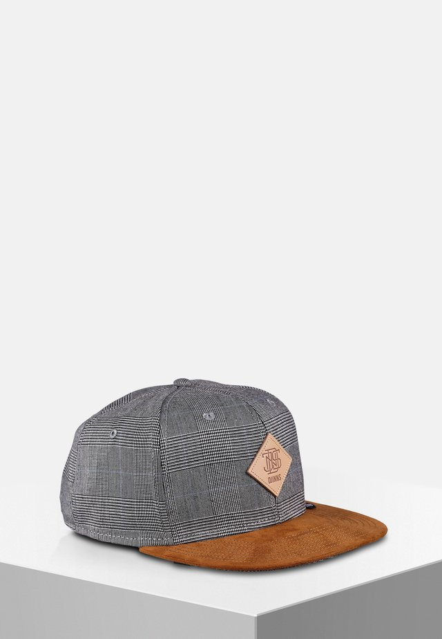 GLENCHECK - Cap - light grey