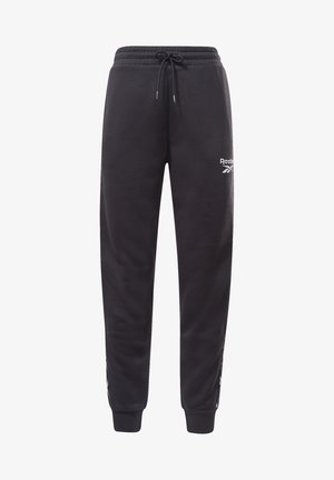 TAPE JOGGERS - Tracksuit bottoms - black
