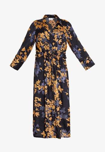 KAMILANA DRESS - Abito a camicia - black deep