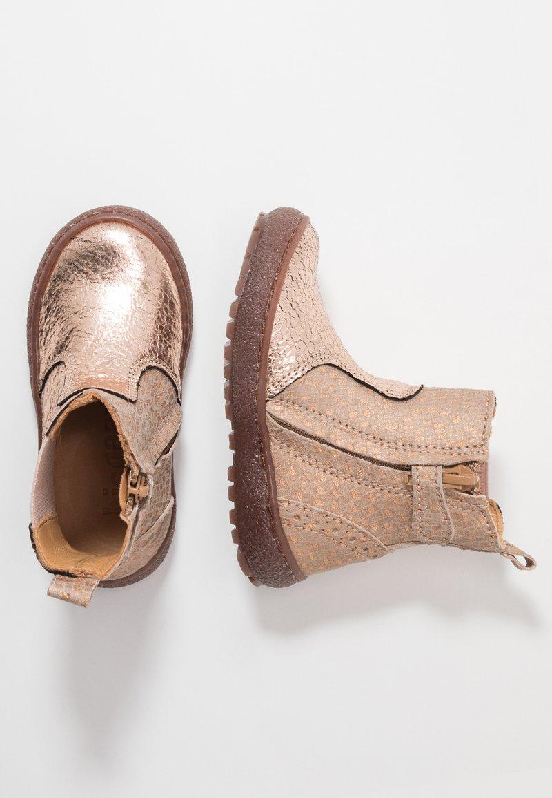 Bisgaard - BOOTIES - Støvletter - rose gold