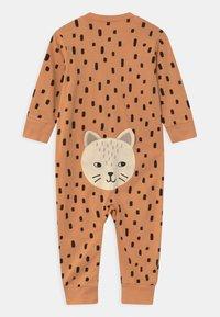 Lindex - CAT AT BACK UNISEX - Pyjamas - dark beige - 1