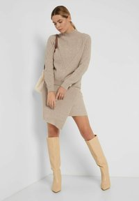 ORSAY - Wrap skirt - autumn beige - 1
