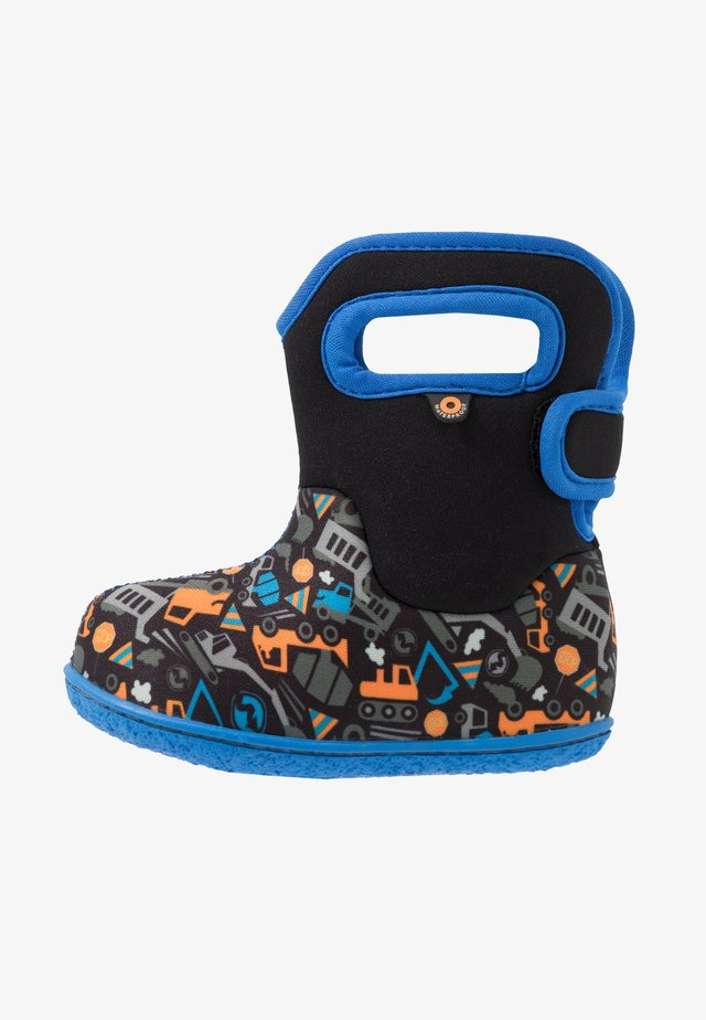 BABY CONSTRUCTION - Snowboots  - black/multicolor