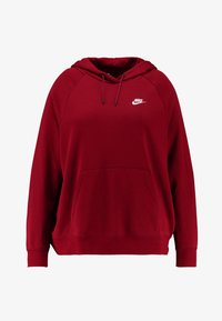 Nike Sportswear - HOODY - Hoodie - team red/white - 4