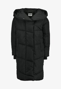 Noisy May - NMTALLY LONG JACKET - Winter coat - black - 4