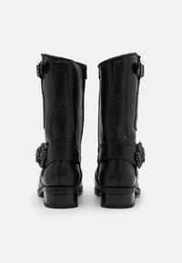 New Rock - UNISEX - Kowbojki i obuwie motocyklowe - black - 2