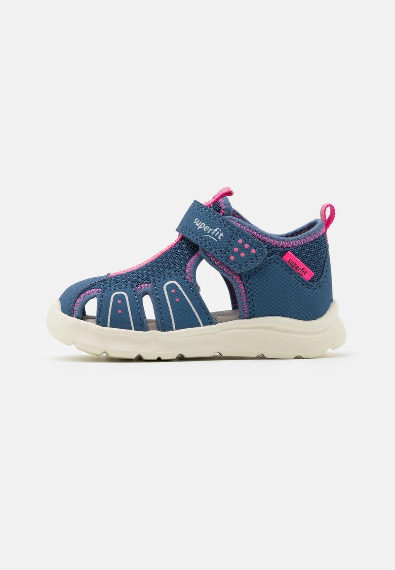Superfit - WAVE - Sandales - blau/rosa