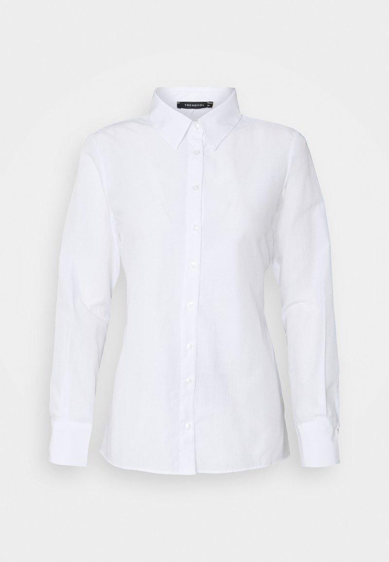 Trendyol - Button-down blouse - white