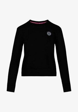 MIRELLA BASIC CREW - Sweatshirt - schwarz