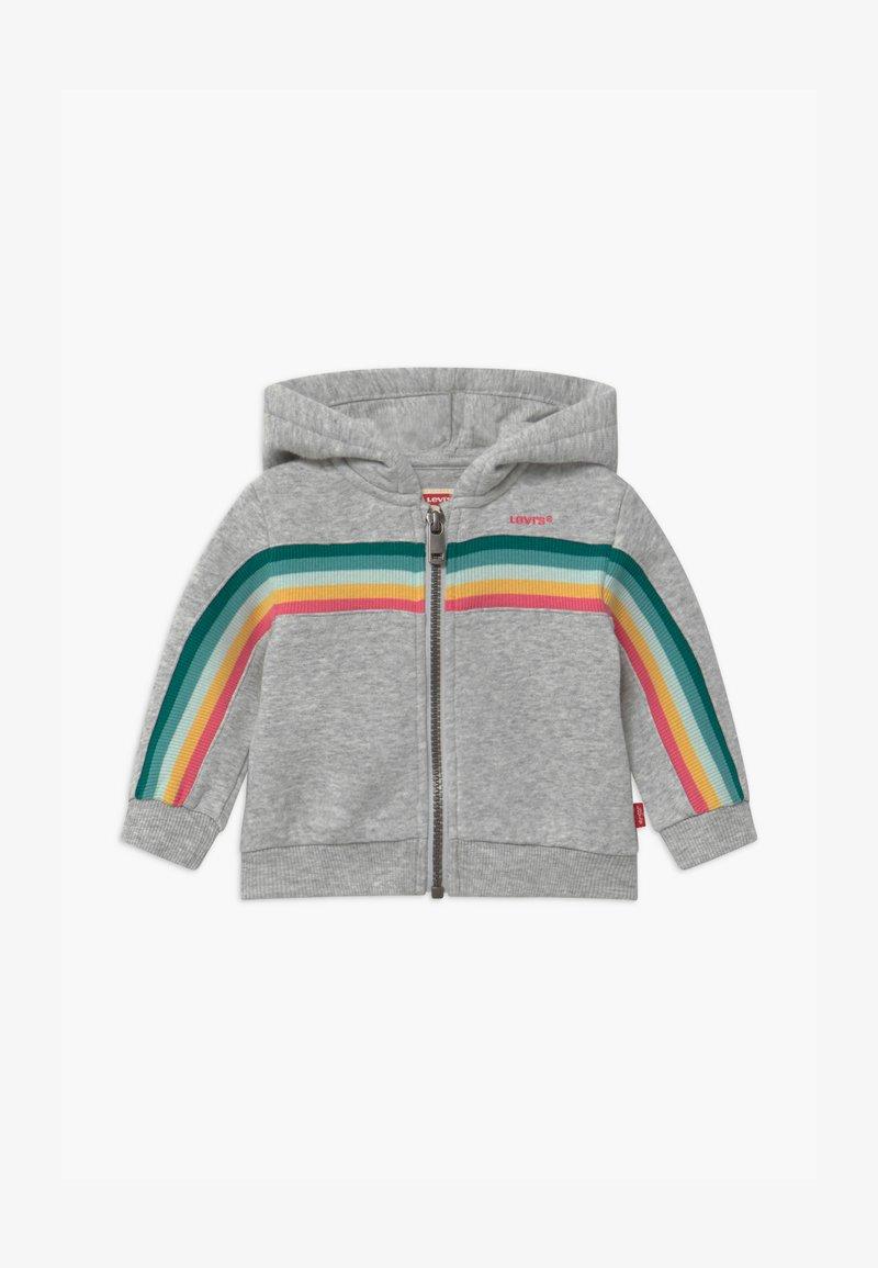 Levi's® - FULL ZIP HOODIE - Mikina na zip - light gray