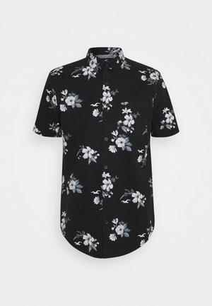 Košile - black floral