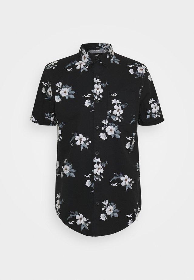 Camicia - black floral
