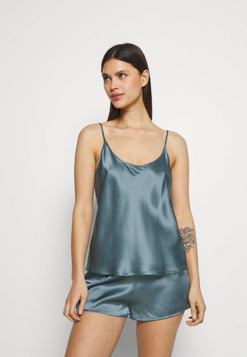 La Perla - SHORT PAJAMAS - Pyjama set - light blue