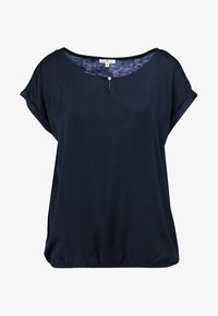 TOM TAILOR - FABRIC MIX - Blouse - sky captain blue/blue - 3