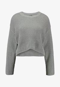 Even&Odd - CROPPED JUMPER - Pullover - grey - 3