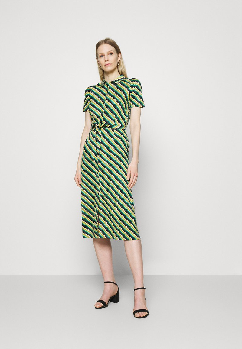 King Louie - ROSIE DRESS DAZE - Žerzejové šaty - eden green