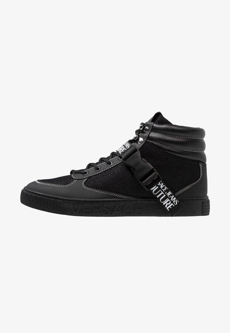 Versace Jeans Couture - FONDO CASSETTA - Sneakersy wysokie - black