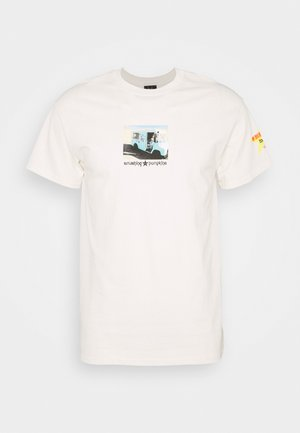 TODAY TEE - Print T-shirt - natural