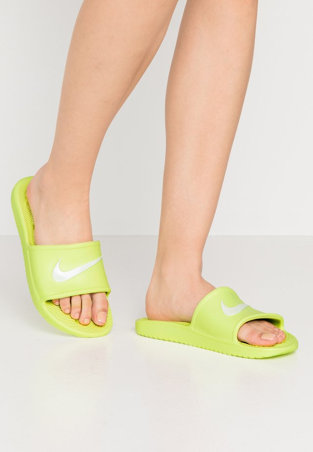 KAWA SHOWER - Pool slides - barely volt/white