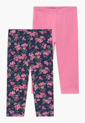 CAPRI 2 PACK - Leggings - dark blue/pink