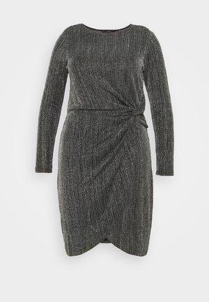 VMKAIDA SHORT DRESS - Cocktail dress / Party dress - black/silver