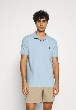 Polo shirt - pastel blue