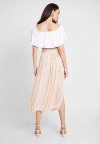 Topshop - SUMMER PLEAT - Maxi skirt - cream - 2
