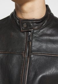 JOOP! Jeans - CLEARY - Leather jacket - brown - 5