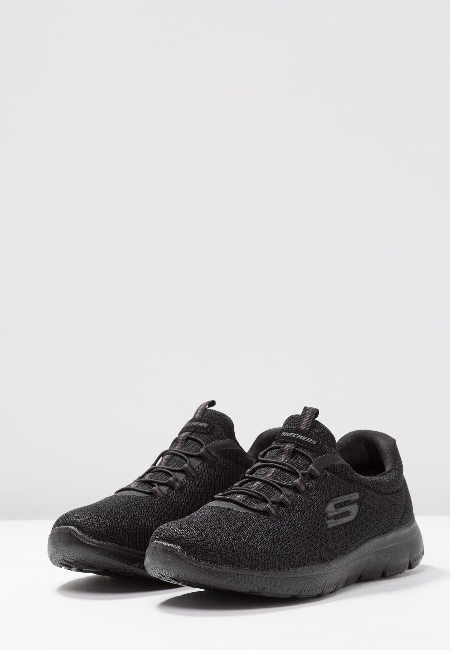 Skechers Wide Fit SUMMITS Joggesko black Zalando.no