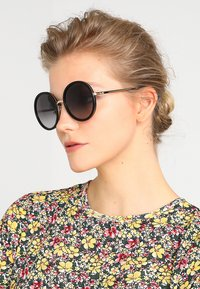kate spade new york - LAMONICA - Sunglasses - black/gold-coloured - 1
